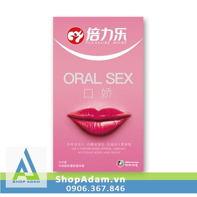 Bao cao su quan hệ đường miệng Oral Sex (Hộp 10 chiếc)