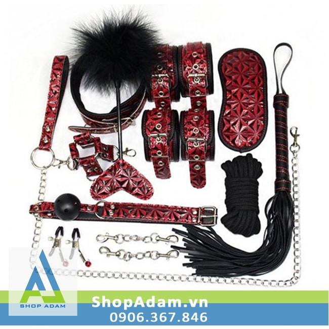 Bộ dụng cụ đồ chơi BDSM 10 món quyến rũ