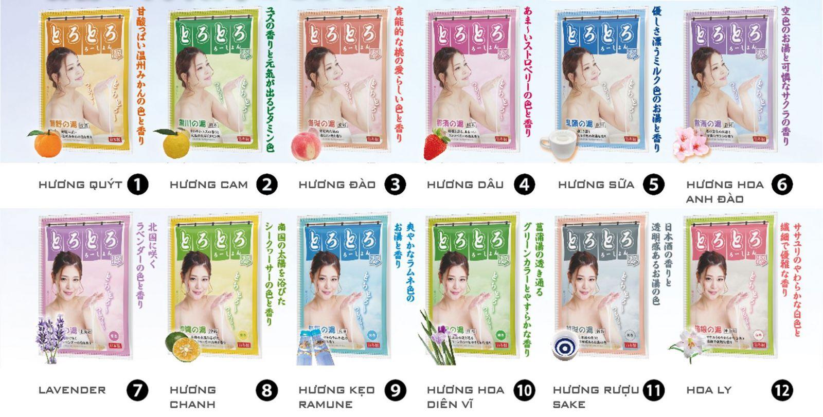 Bột pha dầu massage body Toro SSI JAPAN gói 30g siêu tiết kiệm