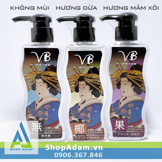 Dầu massage body cao cấp không mùi VB Nhật Bản 170ml