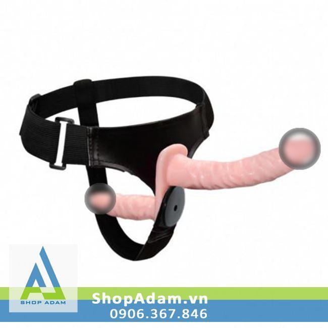 Dương vật giả dây đeo có 2 đầu rung Ultra Passionate Harness