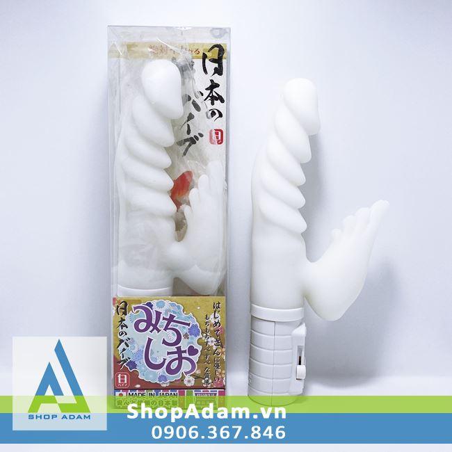 Dương vật giả rung ngoáy cánh thiên thần Michisio Nhật Bản