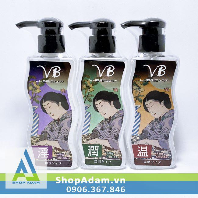 Gel bôi trơn tự nhiên 3 tính năng VB Made In Japan 170ml