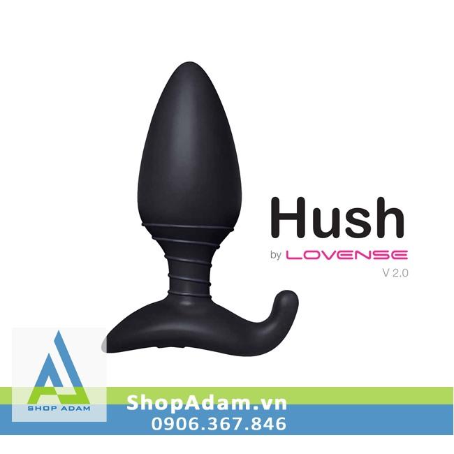 Lovense Hush sex toy hậu môn cao cấp điều khiển từ xa bằng điện thoại
