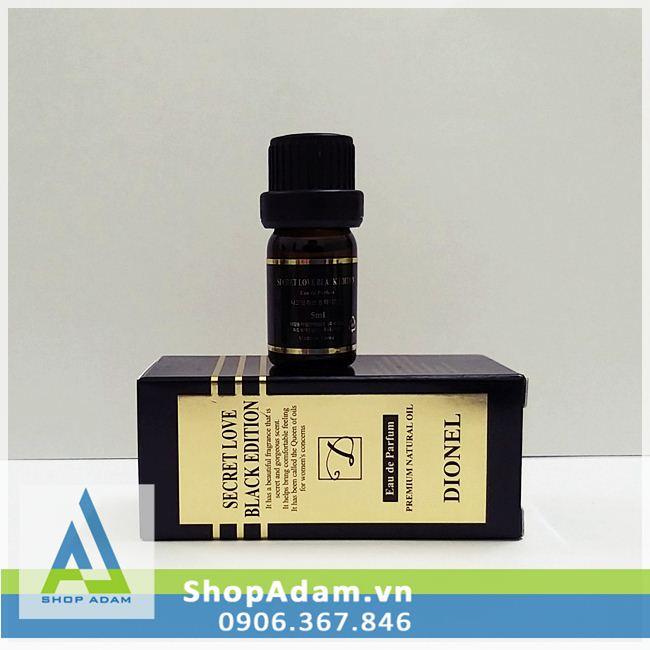 Nước hoa vùng kín Dionel Secret Love Black Edition - 5ml
