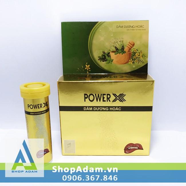 Thực phẩm tăng cường sinh lực nam giới Power X (Tuýp 12 viên)