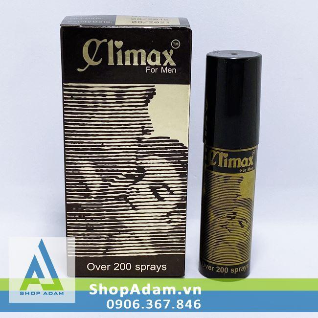 Thuốc xịt kéo dài thời gian yêu Climax