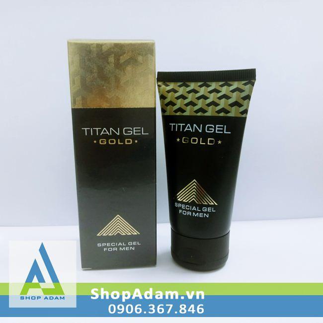 Titan Gold Gel cường dương cho nam (50ml) - Nga
