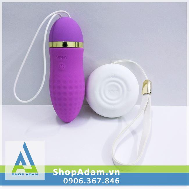 Trứng rung tình yêu không dây Leten Surge sạc USB