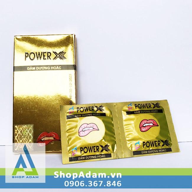 Viên uống thảo dược tăng cường sinh lực cho nam giới dạng sủi Power X (Vỉ 2 viên)