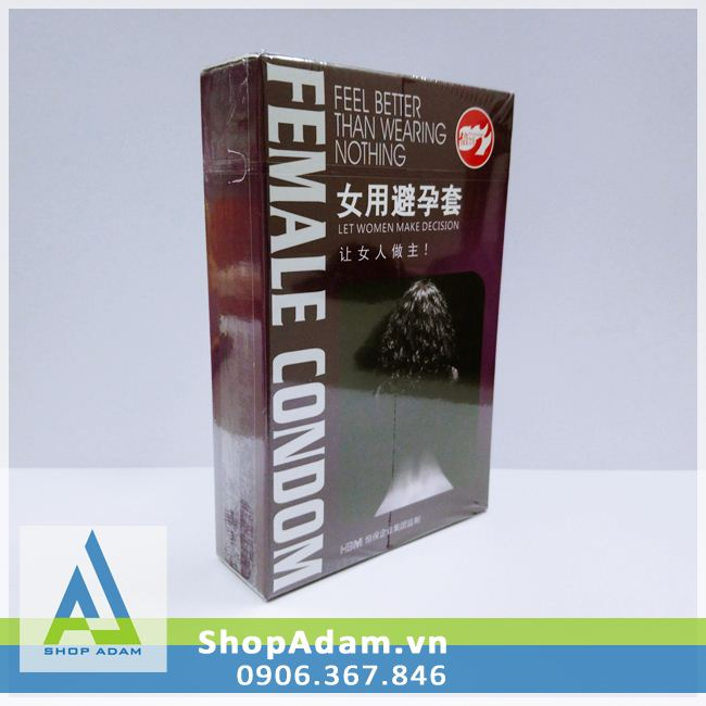 Bao cao su dành cho phụ nữ - Female Condom (Hộp 2 chiếc)