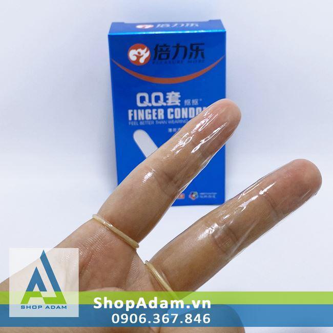 Bao cao su ngón tay Finger Condom