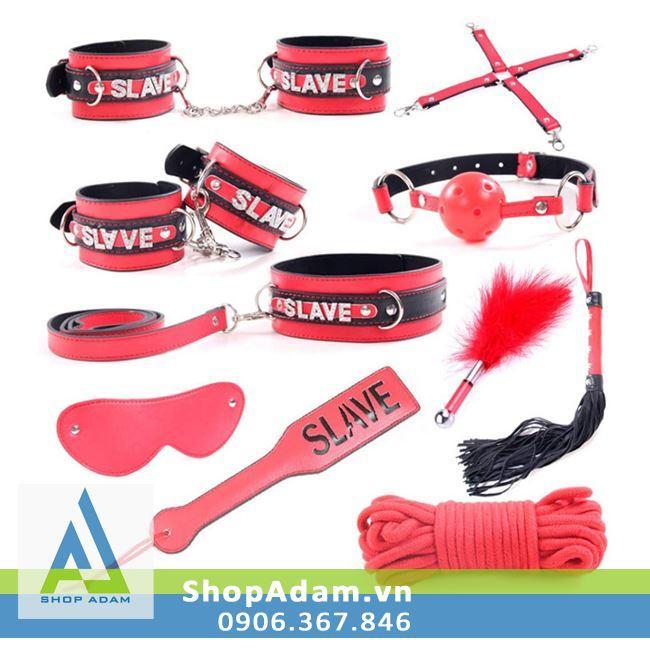 Bộ đồ chơi bạo dâm 10 món Slave