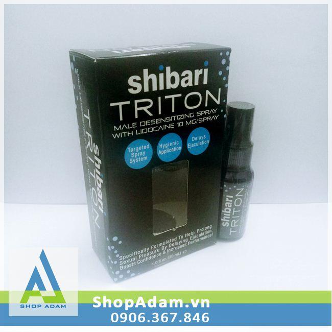 Chai xịt hỗ trợ chống xuất tinh sớm SHIBARI TRITON