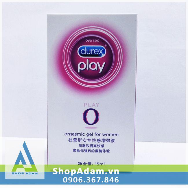 Gel bôi trơn tăng khoái cảm Durex Play O