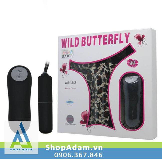 Quần chíp rung điều khiển từ xa Wild Butterfly