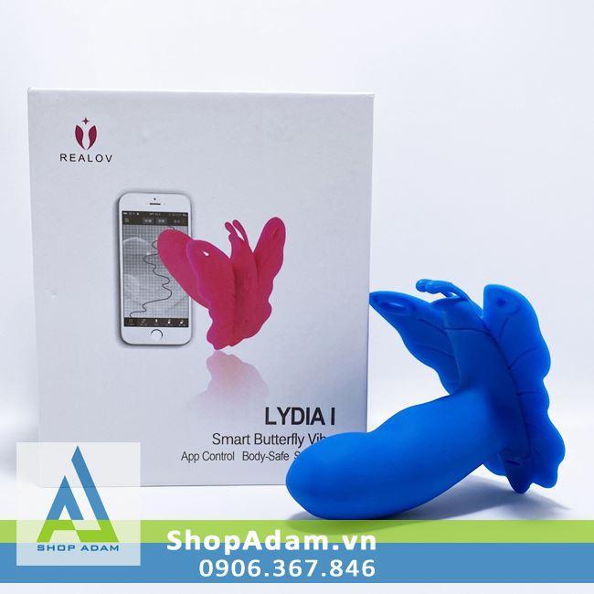 Sextoy nữ điều khiển bằng smartphone Realov Lydia