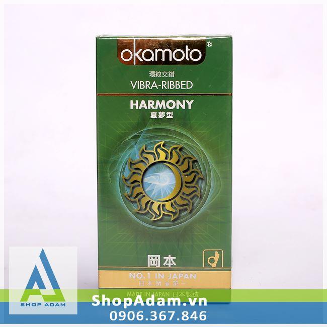 Bao cao su OKAMOTO Harmony - Nhật Bản (Hộp 10 chiếc)