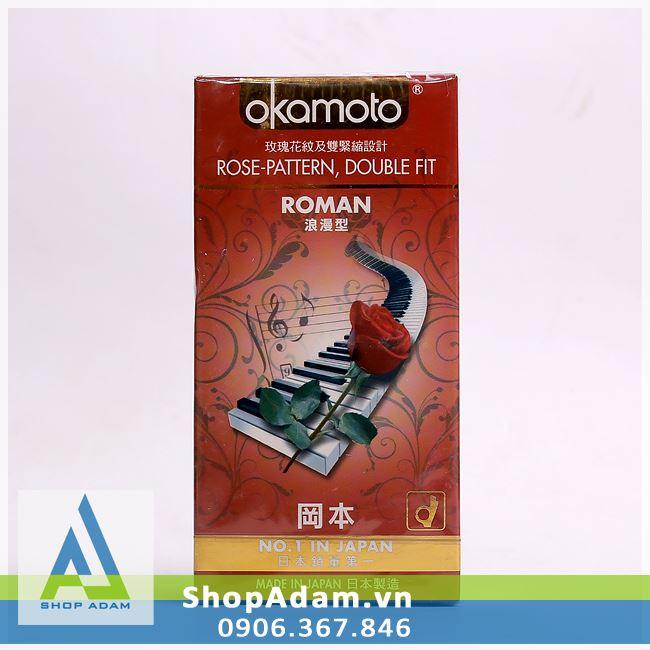 Bao cao su OKAMOTO Roman (Hộp 10 chiếc)