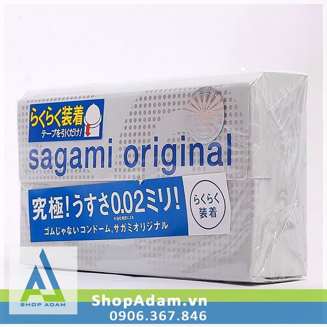 Bao cao su SAGAMI Original 0.02 Quick (Hộp 6 chiếc)