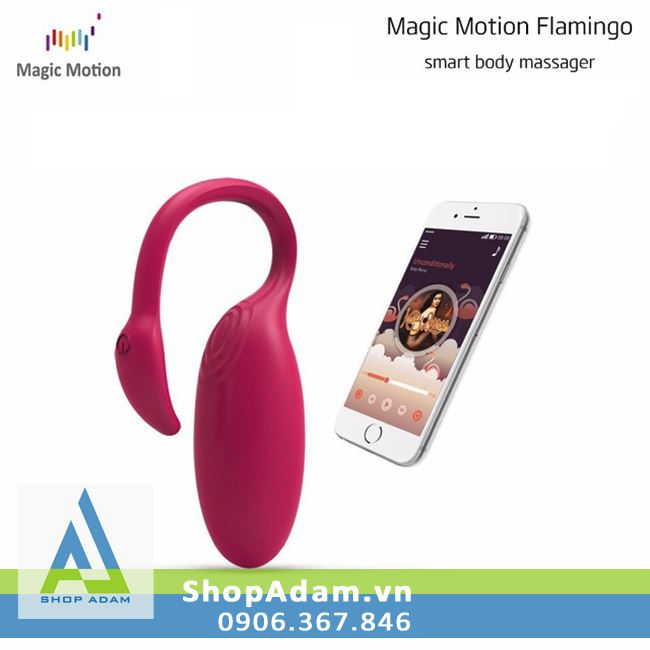 Trứng rung không dây kết nối bluetooth Magic Motion Flamingo